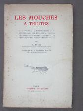 La pêche de la truite à la nymphe (Skues) Mouches artificielles entomologie 1939