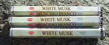 Hem White Musk Incense 20 Stick Box x 3, 60 Sticks  NEW {:-)