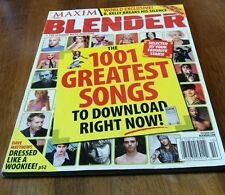 "Maxim Blender MAGAZINE October 2003 ""THE 1001 GREATEST SONGS TO DOWNLOAD NOW"""