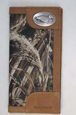 ZEP-PRO Duck Roper Leather & Nylon REALTREE MAX-5 Camo WALLET TIN GIFT BOX