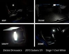 Diode Dynamics White Interior LED Light Bulbs Kit For 2015- 2019 Subaru WRX STI