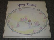 Yves Duteil Chante Pour Les Enfants~Children's French Import Chanson~Book~NM LP