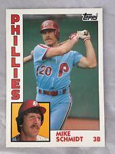"1984 Topps Mike Schmidt  Philles @ 5"" x 7"" Mint!"