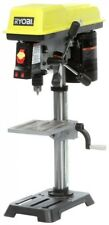 Rybobi 10 In. Table/Benchtop 5-Speed Lighted Drill Press With Laser Alignment