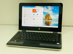 Touchscreen HP x360, Core i3-7100U 2.4GHz, 8GB RAM, 128GB SSD