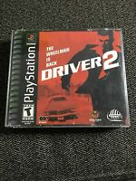 DRIVER 2 - PLAYSTATION - NO MANUAL - FREE S/H - (UU)