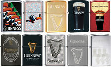 Zippo Complete Guinness Beer 10 Lighter Set Rare a Must for Collectors New