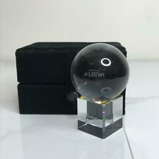 Crystal Award Paperweight ROLLS ROYCE Lift Fan Etched 2004 AVIATION COLLECTIBL
