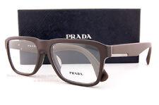 Brand New Prada Eyeglass Frames 04S 04SV TFD 1O1 Matte Brown Men SZ 55