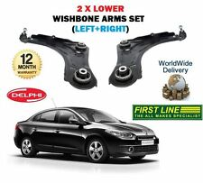 FOR RENAULT FLUENCE 2010--> LEFT+ RIGHT 2x LOWER WISHBONE SUSPENSION ARMS