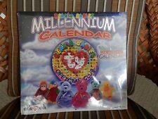 BEANIE BABIES MILLENNIUM CALANDER , YEAR 2000, 16 MONTH CALANDER