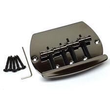 Black Nickel 4-String Music Man® OLP Style Bass Bridge BB-MM4-BN