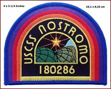 ALIEN Movie U.S.C.S.S. Nostromo Crew Logo PATCH Alien