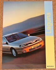 1998 RENAULT LAGUNA Sales Brochure (Revised Model) - Mint Brand New Old Stock!