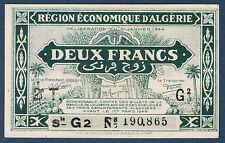 ALGERIE - 2 FRANCS - Pick n° 102 de 1944. en NEUF  2T G2 N°190,865