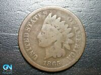 1865 Indian Head Cent Penny  --  MAKE US AN OFFER!  #B2006