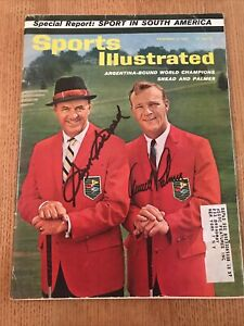 Arnold Palmer And Sam Snead Signed Very Rare 1962 Sports Illustrated JSA COA