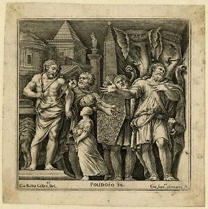 Antique Print-FRESCO-MILESI-ELEPHANT-Caravaggio-Galestruzzi-Venturini-ca. 1670