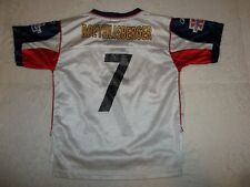 4a0cf1f75 BEN ROETHLISBERGER  7 PITTSBURGH STEELERS SUPER BOWL JERSEY TODDLER M 5-6  5T 6T