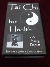 Tai Chi for Health with Barry Barker 2000 VHS VIDEO CHINESE WELLNESS EXERCISE