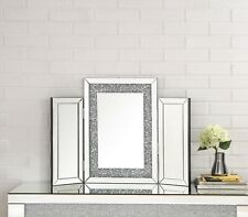 Acme Furniture NoralieVanity Mirror with Faux Diamonds