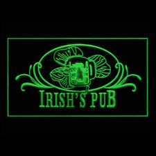 170069 Irish Pub Beer Traditional Grill Dublin Display Funny LED Light Sign