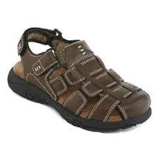 NEW Arizona Jean Co.Designer Boys Brown Coast Jr.Sandals Shoes Sizes 13 1 3