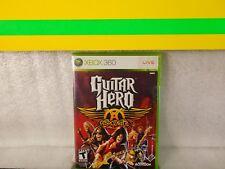 Guitar Hero: Aerosmith  Microsoft Xbox 360 Game new sealed