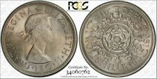 1964 Great Britain Two Shillings PCGS MS64 Only 2 Graded Higher