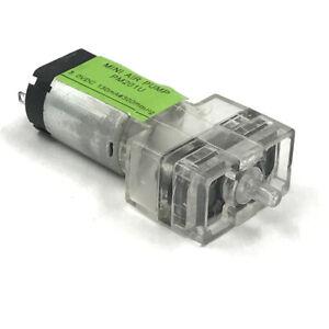 DC 1.5V-3V Transparent Mini Mute Air Pump Micro 031 Motor Fish Tank Oxygen Pump