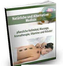 ALTERNATIVE und NATÜRLICHE MEDIZIN eBook HEILMITTEL KRÄUTER Aromatherapie PLR