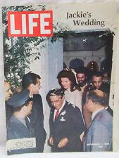 Life Magazine November 1 1968 Jackie's Wedding Jackie Kennedy