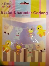 Happy Easter Character Bunting Garland Hanging Decorations 2.5 Metre