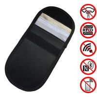 Car Key Signal Blocker Case Faraday Cage Fob RFID Blocking Bag Pouch Black US