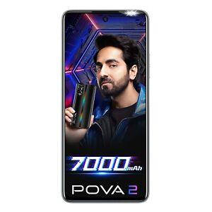 "Tecno POVA 2 4GB RAM 64GB 6.95"" Quad Camera Dual SIM 4G Unlocked GoogleplayPhone"