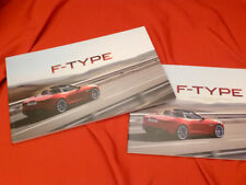 2013 JAGUAR F-Type Kunden Prospekt Brochure Set - C-X16 E-Type - 01/2013