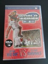 2004 WORLD SERIES New DVD Boston RED SOX St. Louis CARDINALS Baseball SEALED