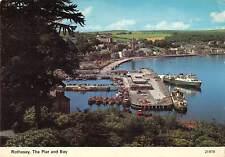 uk34824 pier and bay rothesay scotland uk