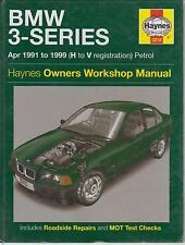 BMW 316 318 320 325 328 (E36 serie) Saloon Coupe 1991 - 1999 Manuale di riparazione