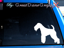 Lakeland Terrier #1 -Vinyl Decal Sticker -Color Choice -High Quality