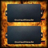 Guitar Parts - GUITARHEADS PICKUPS - ACTIVE HUMBUCKERS - Set of 2 - BLACK