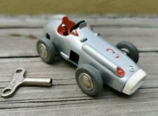 VTG 1970's SCHUCO MICRO RACER MERCEDES 1043 WESTERN GERMANY WORKING WITH KEY