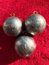 3 Pound Lot - 16oz Canon Ball Sinker - Lunker Hunter Fishing Weights