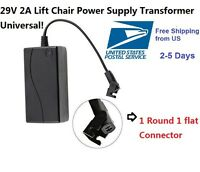 Lift Chair Transformer  Power Recliner AC/DC Power Supply 29V 2A for okin limoss