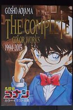 JAPAN NEW Gosho Aoyama Complete Color Works 1994-2015 Detective Conan Art Book