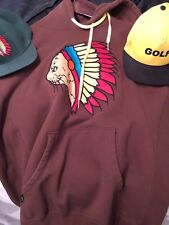 GOLF WANG Native Cat Hoodie (Brown/XL) Plus 2 Golf Hats