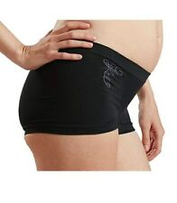 Cantaloop Pregnancy Hipster Brief (Small, Black) (3172)
