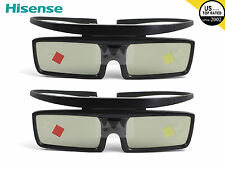 2X Brand New Hisense 3D Active Shutter Glasses For SONY TV TDG-BT500A TDG-BT400A