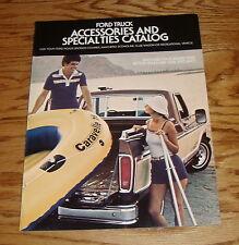 Original 1978 Ford Truck Accessories Sales Brochure 78 Bronco Pickup Ranchero