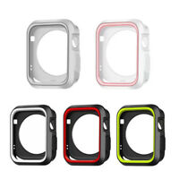 For Apple Watch Series 4 40/44mm Silicone Protective iWatch Bumper Cover Case TK